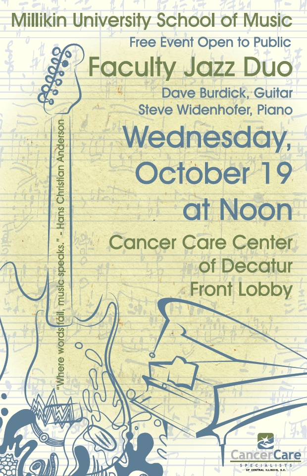 Free Jazz at Cancer Care Center of Decatur!