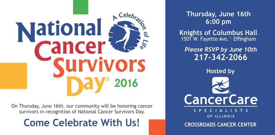 Effingham – National Cancer Survivors Day