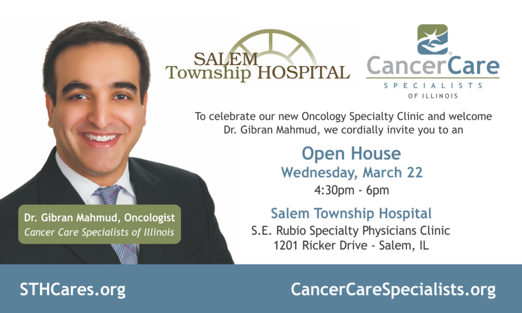 Salem Open House invitation