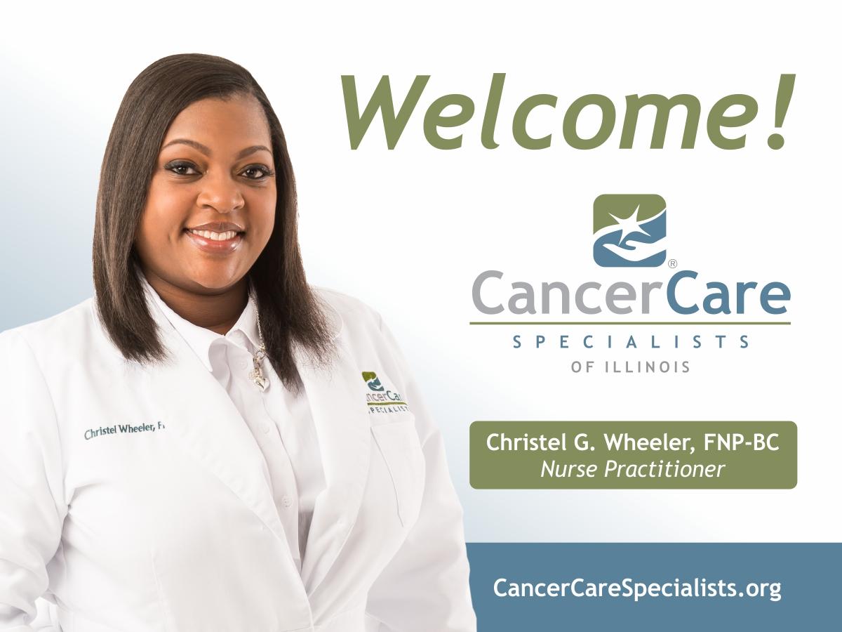 Welcome Christel G. Wheeler
