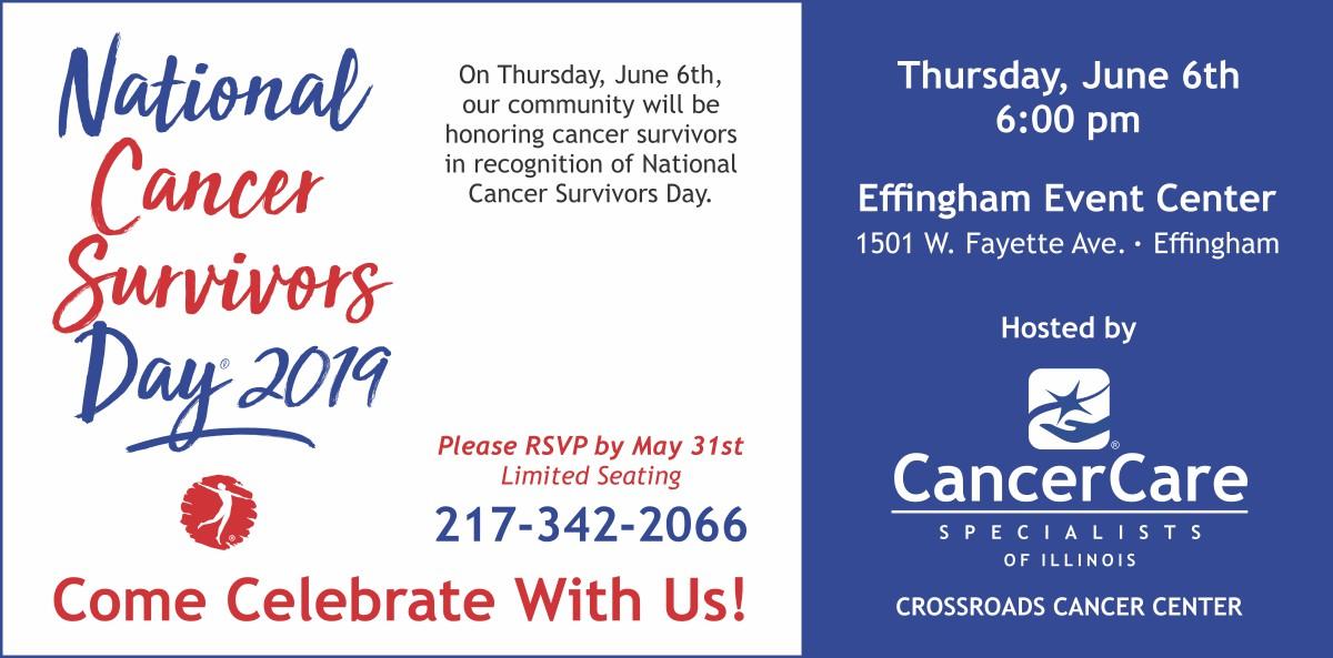 Effingham – National Cancer Survivors Day 2019