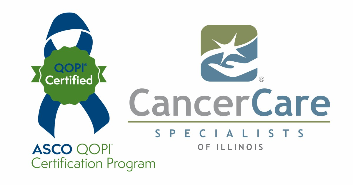 Cancer Care Specialists of Illinois Re-Certified for High-Quality Cancer Care from Largest Oncology Society in United States