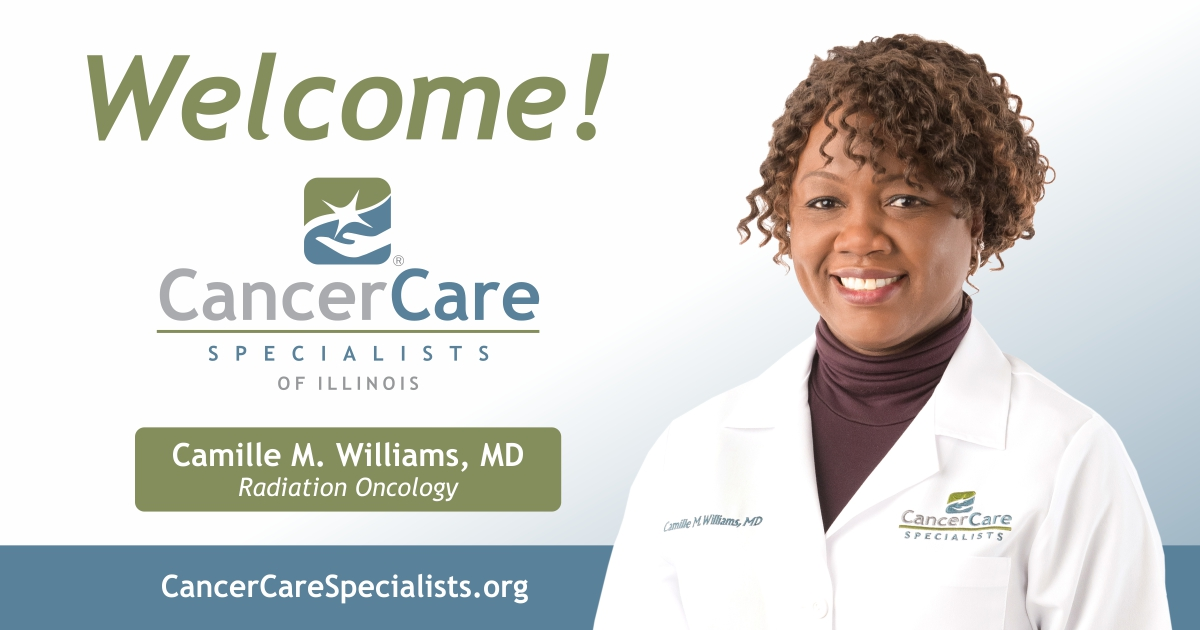 Welcome Camille M. Williams, MD