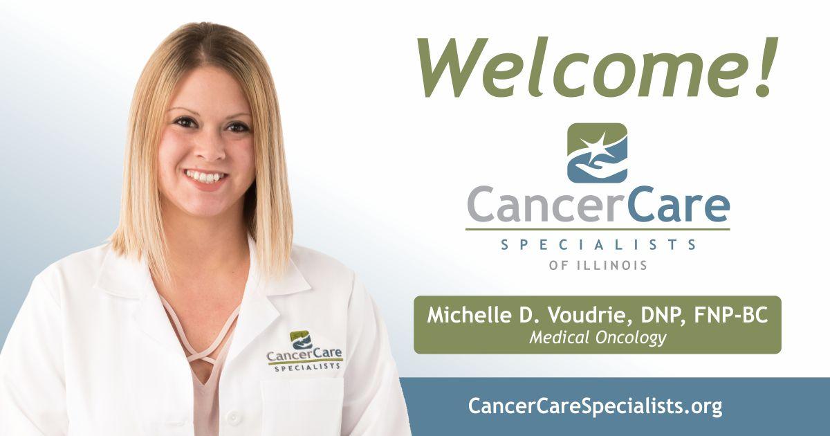 Welcome Michelle D. Voudrie, DNP, FNP-BC