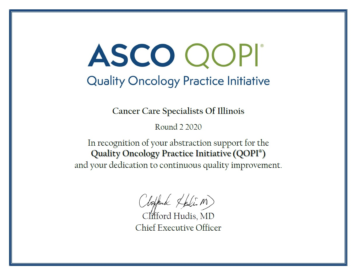 ASCO QOPI Participation