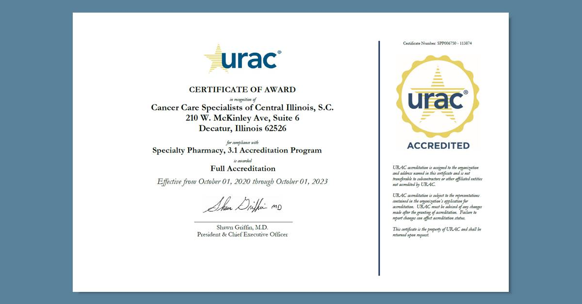 CCSI Achieves Accreditation with URAC