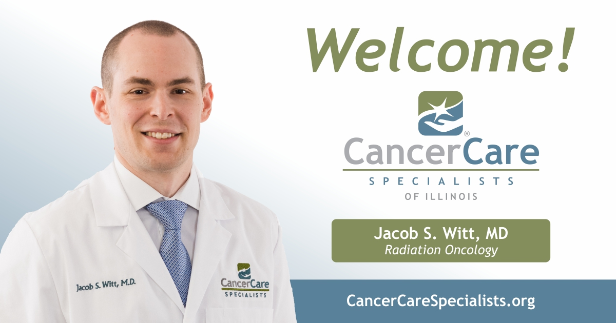 Welcome Jacob S. Witt, MD