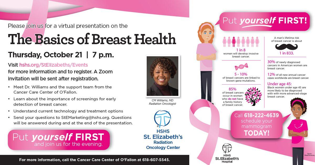 The Basics of Breast Health – Free Virtual Seminar